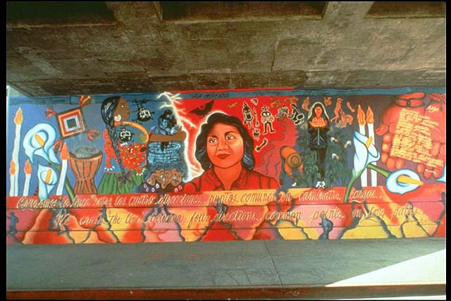 First for Chicano mural art