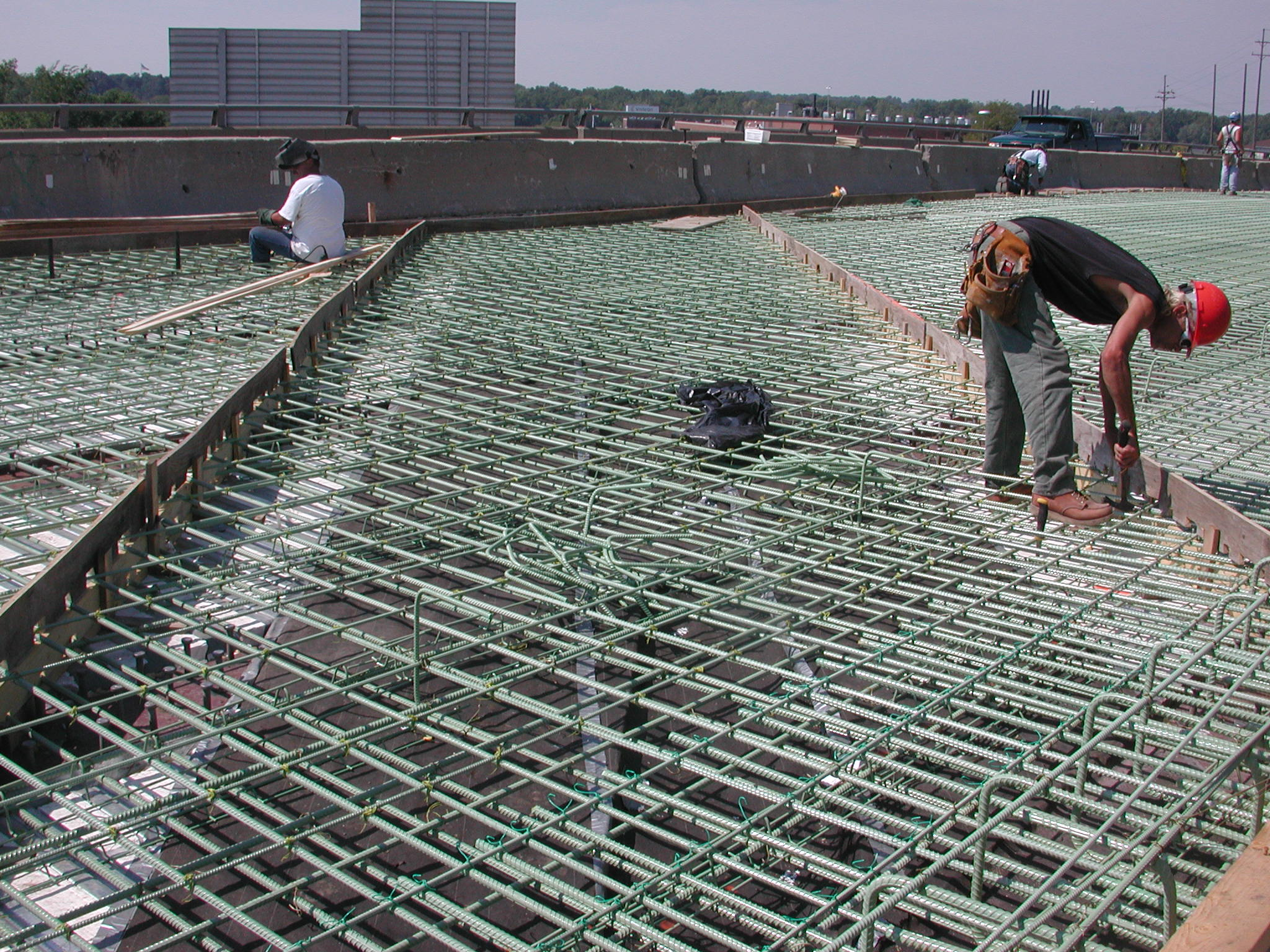 Steel Decking Slab : Research projects ace mrl