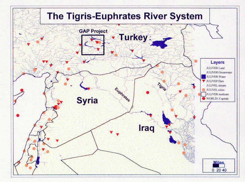 tigris river and euphrates river. The Tigris-Euphrates River