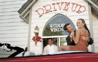 Las Vegas Is The Wedding Capital Of World And Same True For Drive Through Weeding Chapels This Type Chapel Not Only Provides Convenience