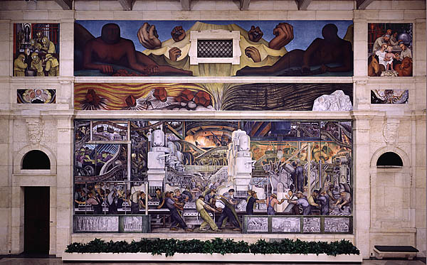 Up 538 economic development planning resource book for Diego rivera ford mural