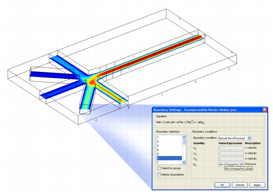 COMSOL Multiphysics is a modeling package that solves