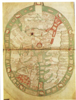 Jerusalem medieval europe saw jerusalem as the center of the world as in this medieval map gumiabroncs Choice Image