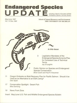 Clickable Image of the May/June 1997 Issue Cover