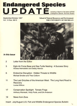 Clickable Image of the September/October 1997 Issue Cover