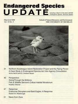 Clickable Image of the May/June 1998 Issue Cover