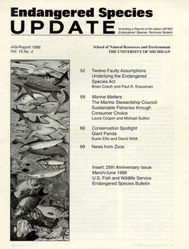 Clickable Image of the July/August 1998 Issue Cover