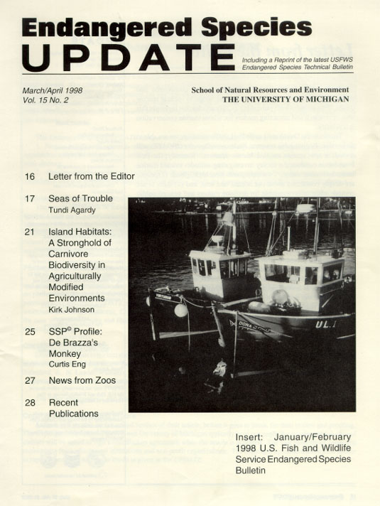 March/April 1998 Issue Cover