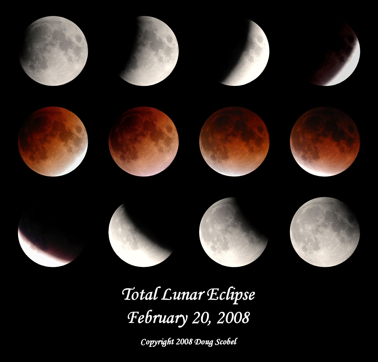 Lunar Eclipse, Image 10 (Astrophotos from the University Lowbrow ...