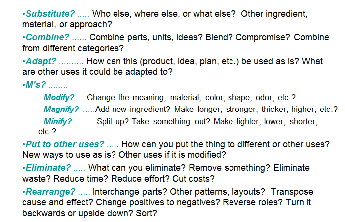 Scamper technique template 2 ppt powerpoint presentation ideas.