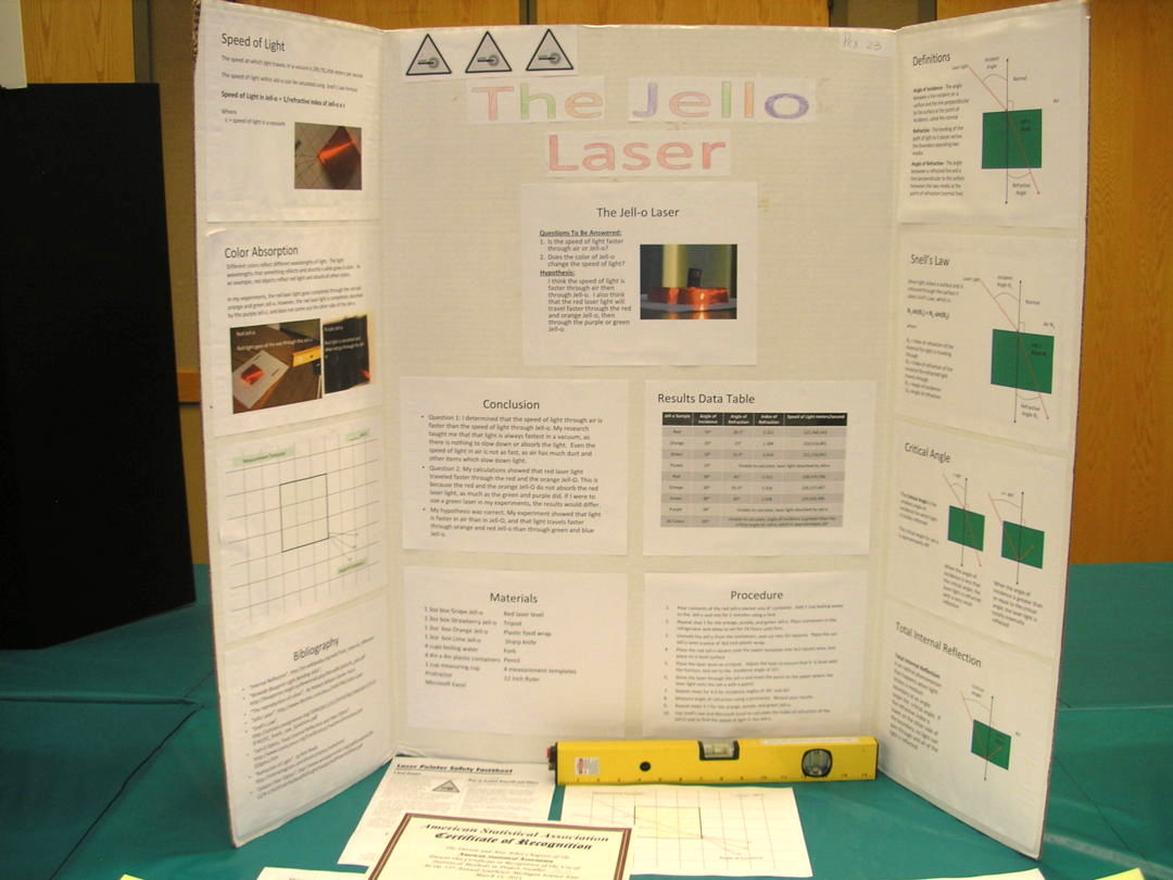 laser science fair projects California state science fair 2006 project summary ap2/06 name(s) project number project title abstract summary statement help received michael a iorga.