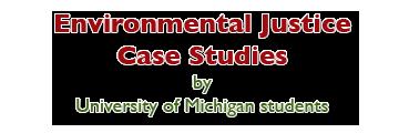 environmental justice case studies