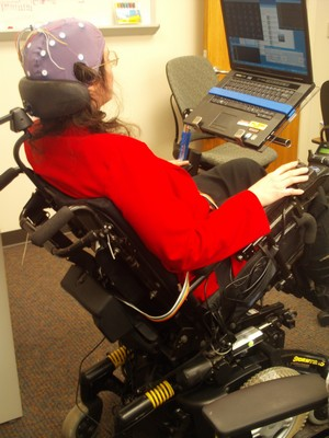 Controlling tilt/recline functions of wheelchair using BCI